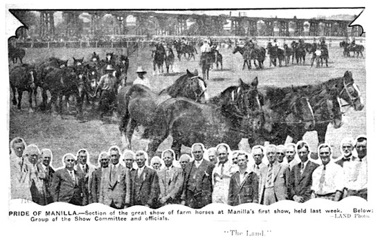 Image: The Land - 1st Manilla show 1932