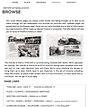 History Webpage Screen Shot