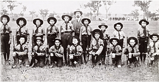 1st Manilla Scout Troop 1909