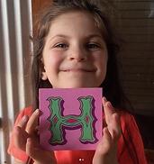 Nichol Decorative Letter H 2018