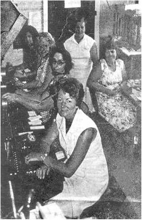 ^1982Manilla Telephone Exchange Workers