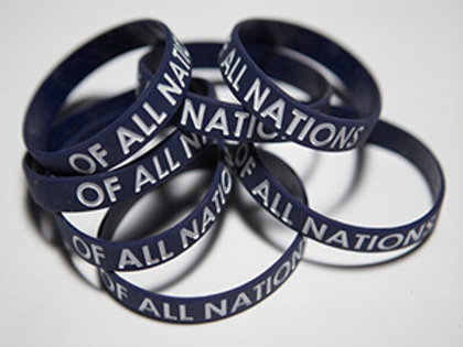 Of All Nations - Wristbands