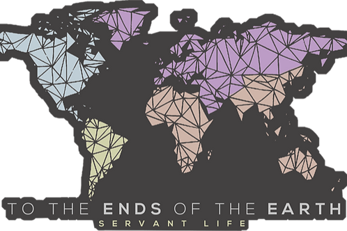 Ends of the Earth - Map Sticker