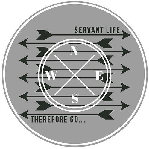 Therefore Go - Arrows Sticker