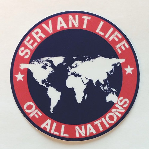 Of All Nations - Sticker