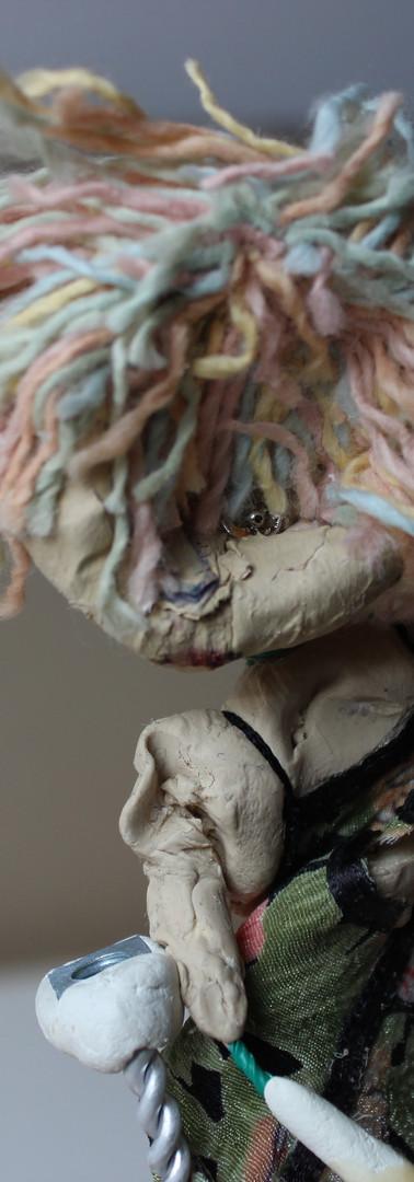 Doll Maker smashed Puppet