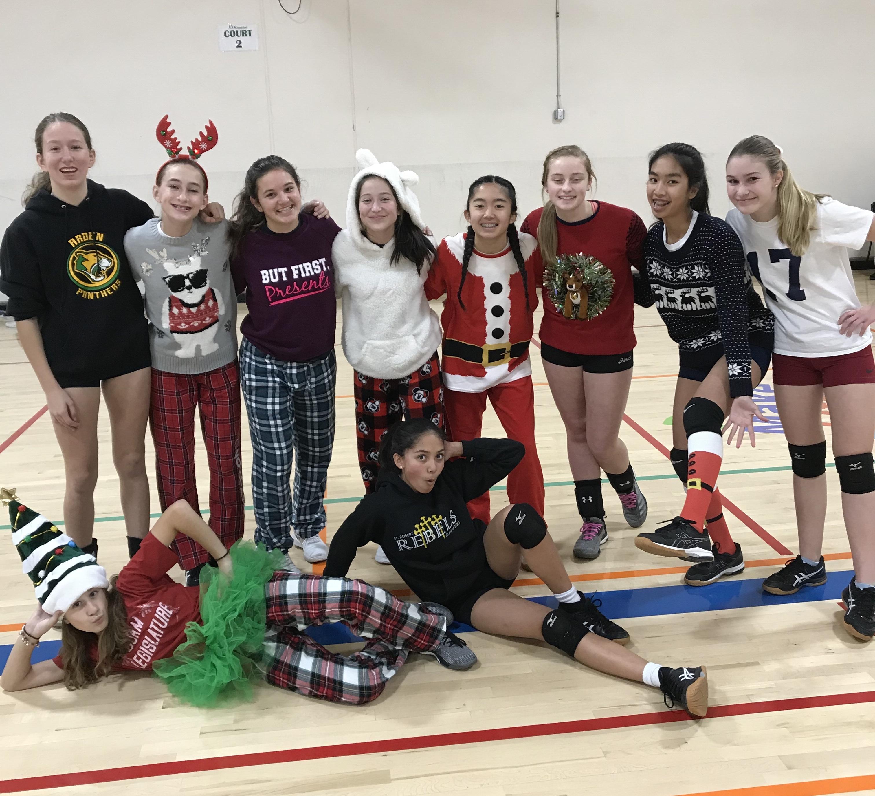 adidas 14's Christmas practice