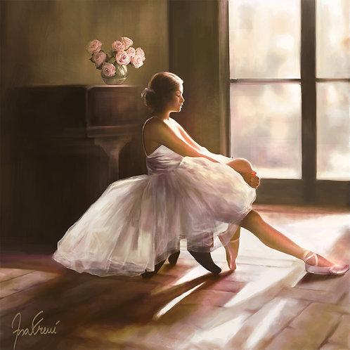 Pintura em tela realista Quadro decorativo