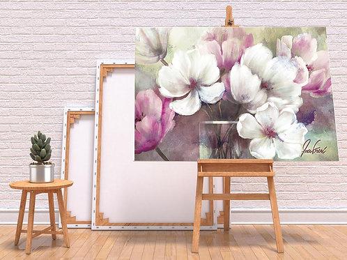 Pintura em tela Quadro grande para sala