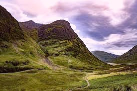 Glencoe, Scotland.  Here, in the 17th century, the Campbells violated the Celtic code of hospitality and murdered their Clan Donald hosts.