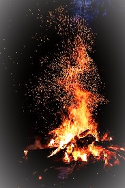 A bonfire is an important part of the four Celtic cross-quarter celebrations.