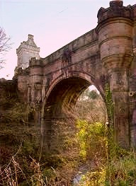Overtoun Bridge, West Dunbarton, Scotland is believed to be a thin place where this world and the Otherworld connect.