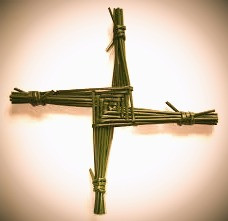 A Saint Brigid Cross