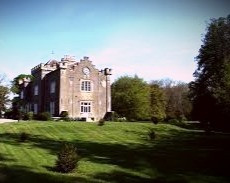 "Shankill Castle in Co. Kilkenny.  The county has been named ""one of the most haunted places in Europe."""
