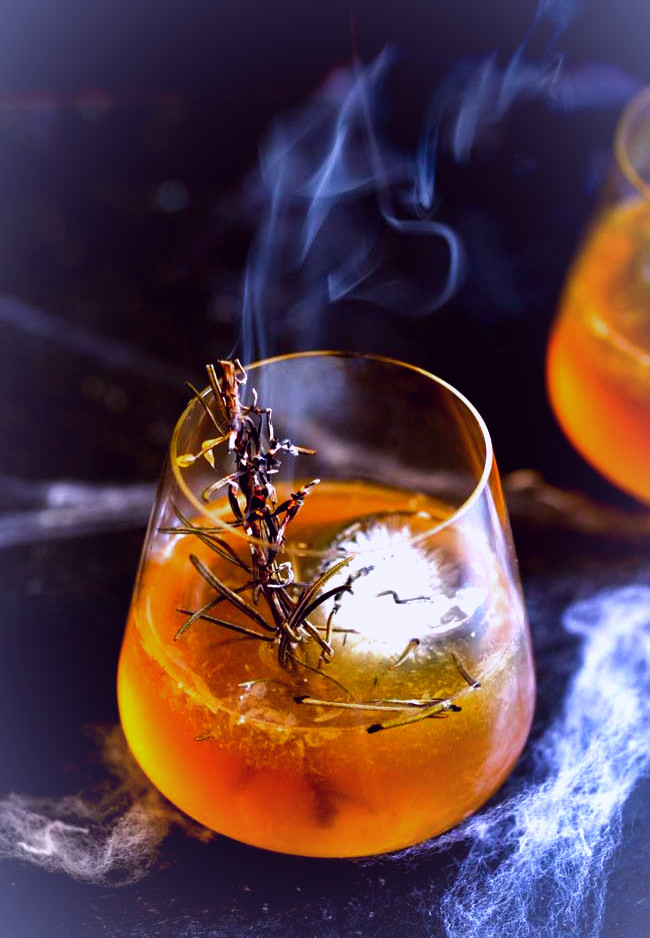 Ghosts are a key ingredient to a Celtic Halloween, but they don't have to be represented by cupcakes.  Try Spooky Shepherd's Pie or this Haunted Graveyard Cocktail instead.
