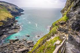 Tintagel, the legendary place of Arthur's conception.