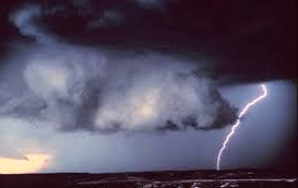 Summer can bring storms as well as sun.  In either case, Celtic mythology says a deity's responsible.