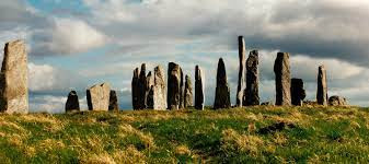 The Calanais Standing Stones on the Isle of Lewis in Scotland are older than Stonehenge.