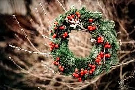 Celtic folklore says that, at Winter Solstice, the Holly King is defeated by the Oak King.