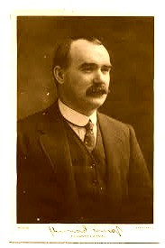 James Connolly, one of the leaders of the 1916 Easter Rising, is portrayed in an eponymous song as Christ-like.