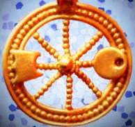 Scholars believe that a major symbol of the Celtic thunder god, Taranis, was a spoked wheel.