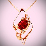 Rubies are believed to provide protection from storms, enable restful sleep, and attract wealth.