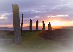 The Ring of Brodgar is one of many mysterious stone circles that can be found across Ireland, Scotland, and Wales.