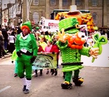 St. Patrick's Day used to be a solemn holy day in Ireland until the American parades and parties migrated over the Atlantic to the Emerald Isle