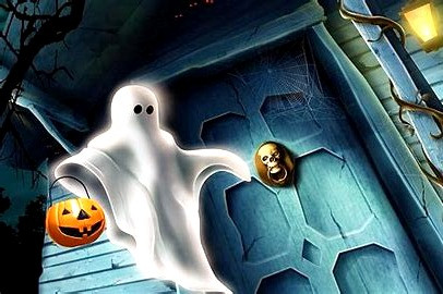 Ghosts are a major part of a Celtic Halloween as the spirits of the ancestors are said to return home on Samhain's Eve.