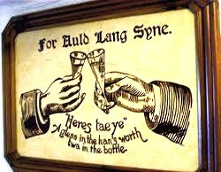 "This New Year's Eve, raise a glass to Scotsman Robbie Burns, author of ""Auld Lang Syne."""