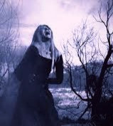 A banshee doesn't scream. She wails in heart-wrenching grief.