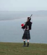The moral of the Phantom Bagpiper's story: Don't mess with faeries!