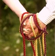 .Hand-fasting on Lughnasa originally marked the start of a year-long trial marriage, but many people today use it in the wedding ceremony as a symbol of their union.