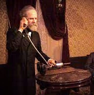 """""""Watson, have you heard?  I'm only one of many Scottish inventors."""""""