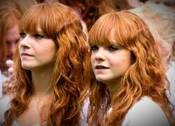 Steer clear of red-haired women or, according to Irish superstition, your luck will be ruined (at least for the day).
