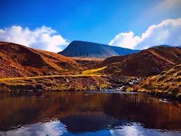 Some people claim that Llyn y Fan Fach in the Brecon Beacons is home to the Lady of the Lake.