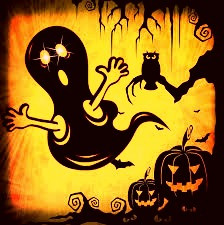 Ghosts play a major role in a Celtic Halloween.
