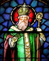 "Saint Patrick presided at the ritual for Brigid's final vows as a nun and ""accidentally"" ordained her.  Oops!"