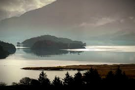 Loch Morar, home of Morag