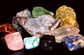 In Celtic spirituality, everything has a spark of the Divine.  So belief in the energy contained in crystals is in keeping with Celtic tradition.