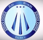The Awen is a Celtic symbol of balance.