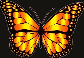 In Celtic symbolism, the butterfly represents the soul and immortal life.