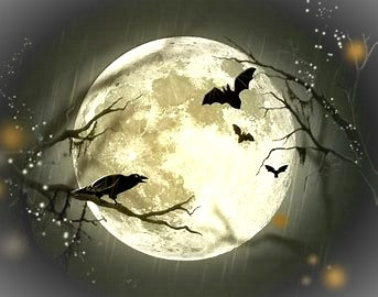 The faerie collective, the Sluagh Sidhe, have bat-like wings but resemble crows as they fly across the sky, seeking souls.