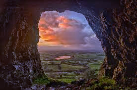 The Caves at Keshcorran in the province of Connacht are said to be an entrance to the Otherworld.