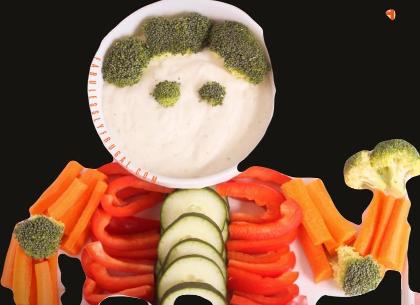 Building a Skeleton Veggie Tray offers family bonding time after which you can eat your work!