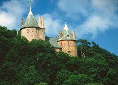Castell Coch's renovated exterior hides a supernatural secret.
