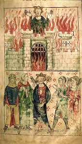 The Welsh king, Vortigern, is said to have invited the Angles and Saxons to invade Britain.  He also is said to have regretted it.
