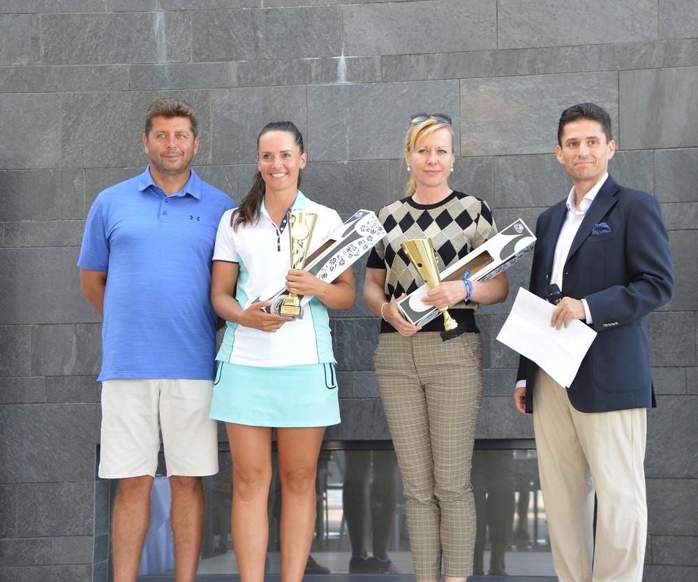 Nemzetközi női bajnok Zuzana Bielik (balról 2.), második helyezett Batta Krisztina (balról a 3.)