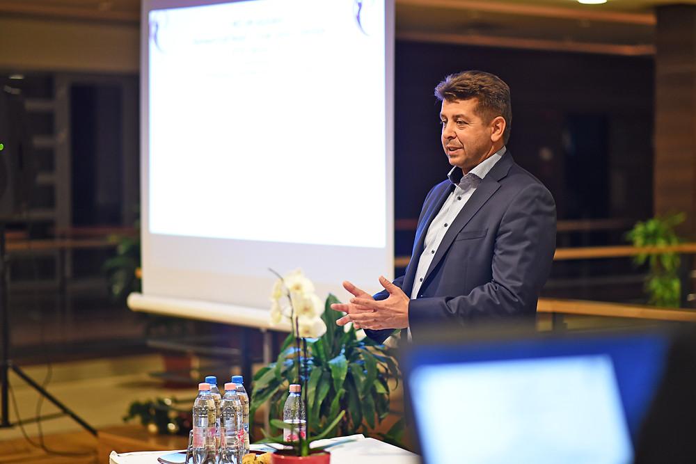 Zilahy Csaba, az MMAGE elnöke