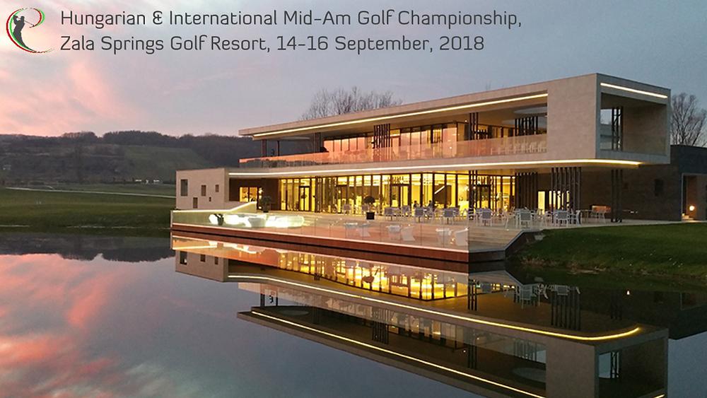 Magyar & Nemzetközi Mid-Amatőr Golfbajnokság 2018